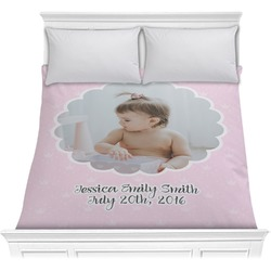 Baby Girl Photo Comforter (Personalized)
