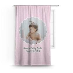 Baby Girl Photo Curtain (Personalized)