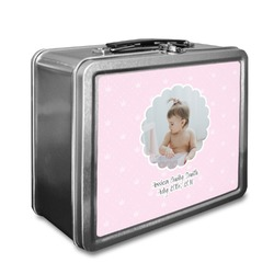 Baby Girl Photo Lunch Box (Personalized)