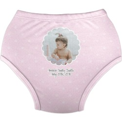 Baby Girl Photo Diaper Cover (Personalized)