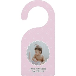 Baby Girl Photo Door Hanger (Personalized)