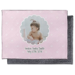 Baby Girl Photo Microfiber Screen Cleaner (Personalized)