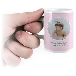 Baby Girl Photo Espresso Mug - 3 oz (Personalized)