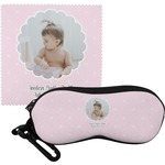 Baby Girl Photo Eyeglass Case & Cloth (Personalized)