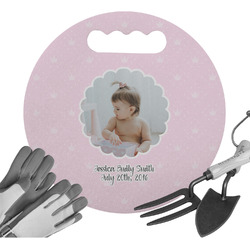 Baby Girl Photo Gardening Knee Cushion (Personalized)