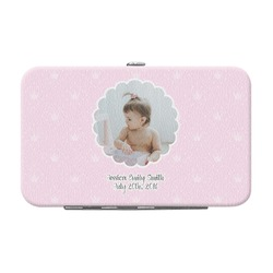 Baby Girl Photo Genuine Leather Small Framed Wallet (Personalized)