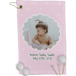 Baby Girl Photo Golf Towel - Full Print (Personalized)