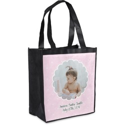 Baby Girl Photo Grocery Bag (Personalized)