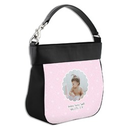 Baby Girl Photo Hobo Purse w/ Genuine Leather Trim