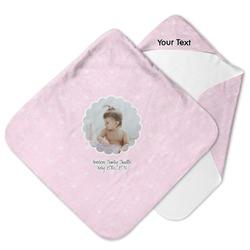 Baby Girl Photo Hooded Baby Towel