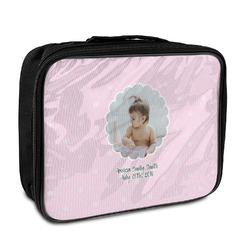 Baby Girl Photo Insulated Lunch Bag (Personalized)