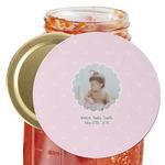 Baby Girl Photo Jar Opener