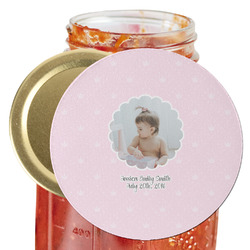 Baby Girl Photo Jar Opener (Personalized)