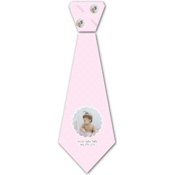 Baby Girl Photo Iron On Tie (Personalized)