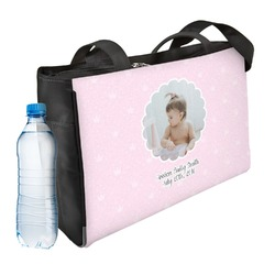 Baby Girl Photo Ladies Workout Bag (Personalized)