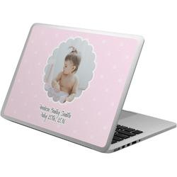 Baby Girl Photo Laptop Skin - Custom Sized (Personalized)