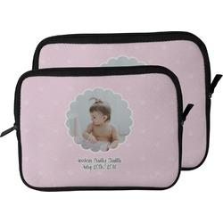 Baby Girl Photo Laptop Sleeve / Case (Personalized)