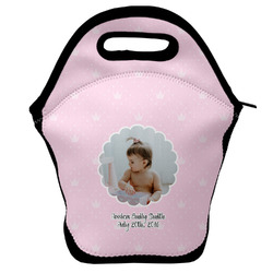Baby Girl Photo Lunch Bag (Personalized)