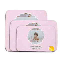 Baby Girl Photo Memory Foam Bath Mat (Personalized)