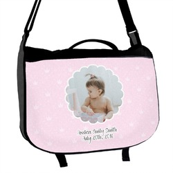 Baby Girl Photo Messenger Bag (Personalized)