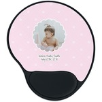 Baby Girl Photo Mouse Pad with Wrist Support