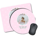 Baby Girl Photo Mouse Pads (Personalized)