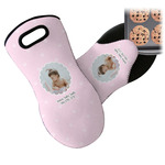 Baby Girl Photo Neoprene Oven Mitt (Personalized)