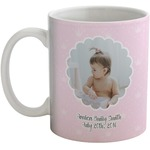 Baby Girl Photo Coffee Mug (Personalized)