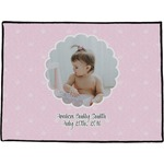 Baby Girl Photo Door Mat (Personalized)