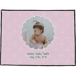 Baby Girl Photo Door Mat (Personalized)