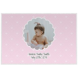 Baby Girl Photo Placemat (Laminated) (Personalized)