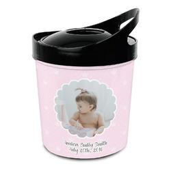 Baby Girl Photo Plastic Ice Bucket (Personalized)