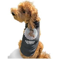 Baby Girl Photo Black Pet Shirt - Multiple Sizes (Personalized)
