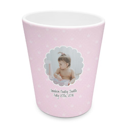 Baby Girl Photo Plastic Tumbler 6oz (Personalized)