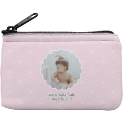 Baby Girl Photo Rectangular Coin Purse (Personalized)