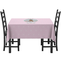 Baby Girl Photo Tablecloth (Personalized)
