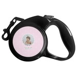 Baby Girl Photo Retractable Dog Leash (Personalized)