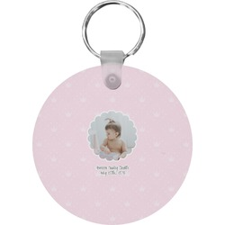 Baby Girl Photo Keychains - FRP (Personalized)