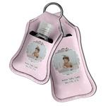 Baby Girl Photo Hand Sanitizer & Keychain Holder