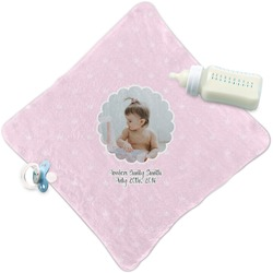 Baby Girl Photo Security Blanket (Personalized)
