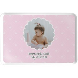Baby Girl Photo Serving Tray (Personalized)