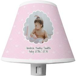 Baby Girl Photo Shade Night Light (Personalized)