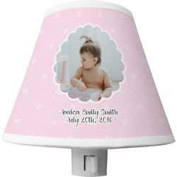 Baby Girl Photo Shade Night Light (Personalized)