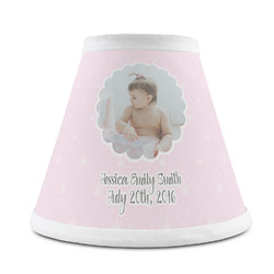 Baby Girl Photo Chandelier Lamp Shade (Personalized)