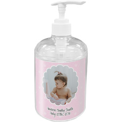 Baby Girl Photo Soap / Lotion Dispenser (Personalized)