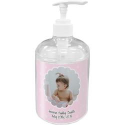 Baby Girl Photo Acrylic Soap & Lotion Bottle
