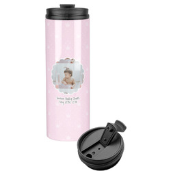 Baby Girl Photo Stainless Steel Travel Tumbler (Personalized)