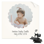 Baby Girl Photo Sublimation Transfer (Personalized)