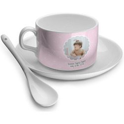 Baby Girl Photo Tea Cups (Personalized)
