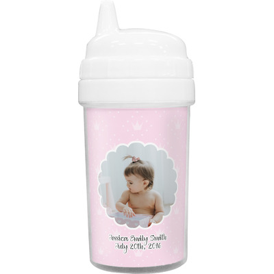 Baby Girl Photo Sippy Cup (Personalized)